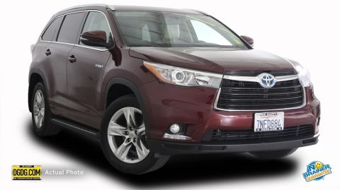 Used Toyota Highlander Hybrid Limited