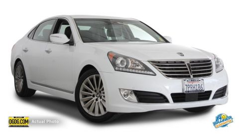 Certified Used Hyundai Equus Signature