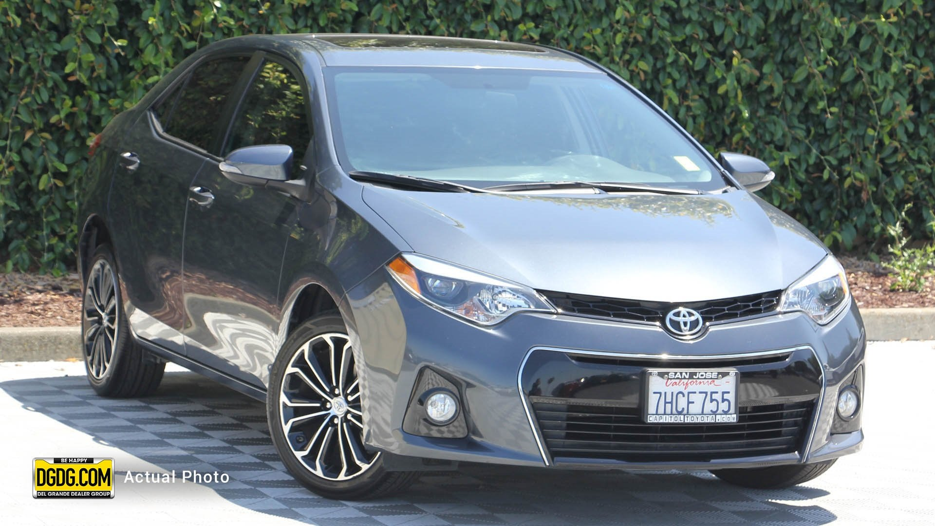 San Jose Toyota >> Pre Owned 2015 Toyota Corolla S Plus 4d Sedan In San Jose H26179a