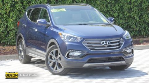 Certified Pre-Owned 2018 Hyundai Santa Fe Sport 2.0L Turbo Ultimate