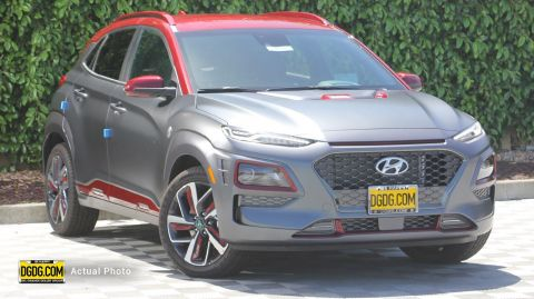 2019 Hyundai Kona Iron Man With Navigation