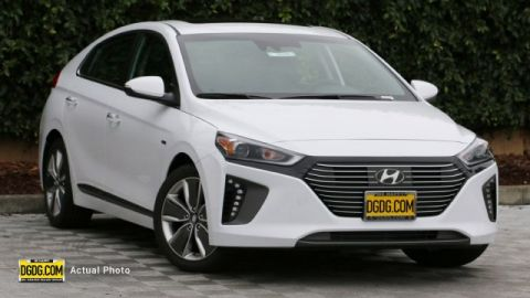 2019 Hyundai Ioniq Hybrid Limited With Navigation