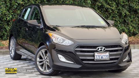 Certified Pre-Owned 2017 Hyundai Elantra GT Base