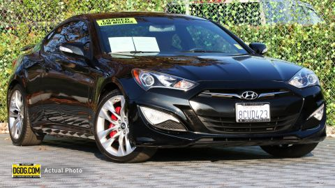 Certified Pre-Owned 2015 Hyundai Genesis Coupe 3.8 Ultimate