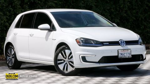 Pre-Owned 2015 Volkswagen e-Golf SEL Premium